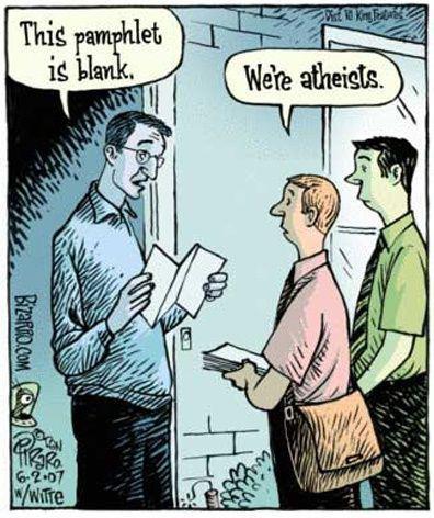 blank pamphlet